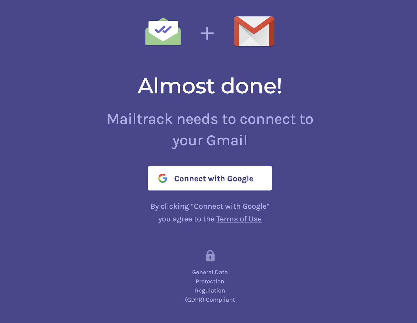 Mailtrack 連携