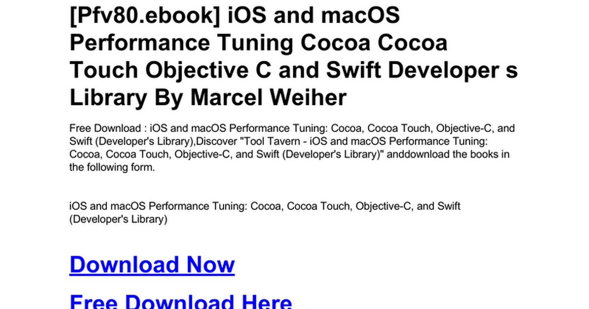 ios-and-macos-performance-tuning-cocoa-cocoa-touch-objective-c-and