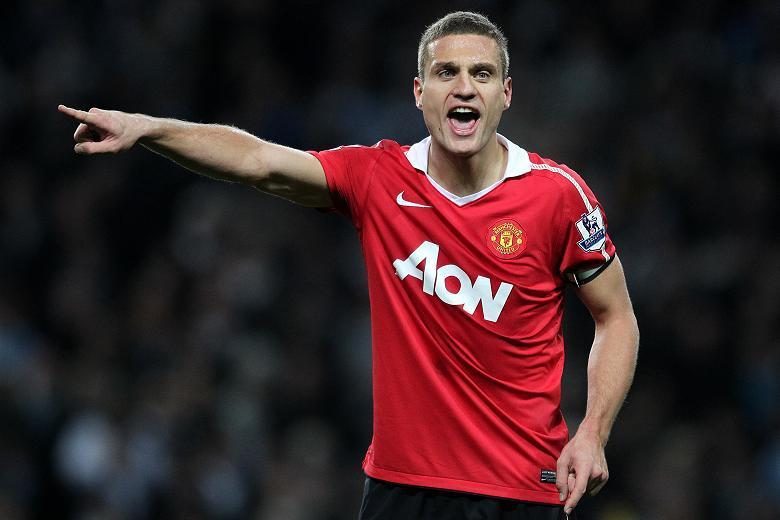 Shouting the odds: Vidic, the captain, is aware that United's form away from home is poor but says they have the mental strength to regain the title this season