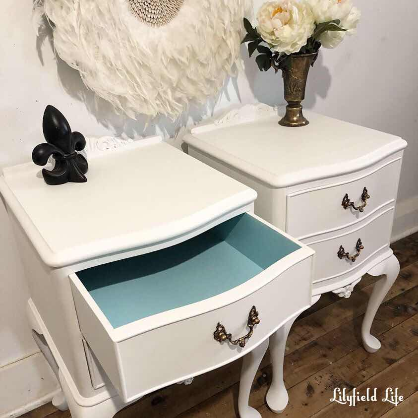 Lilyfield Life White bedside tables