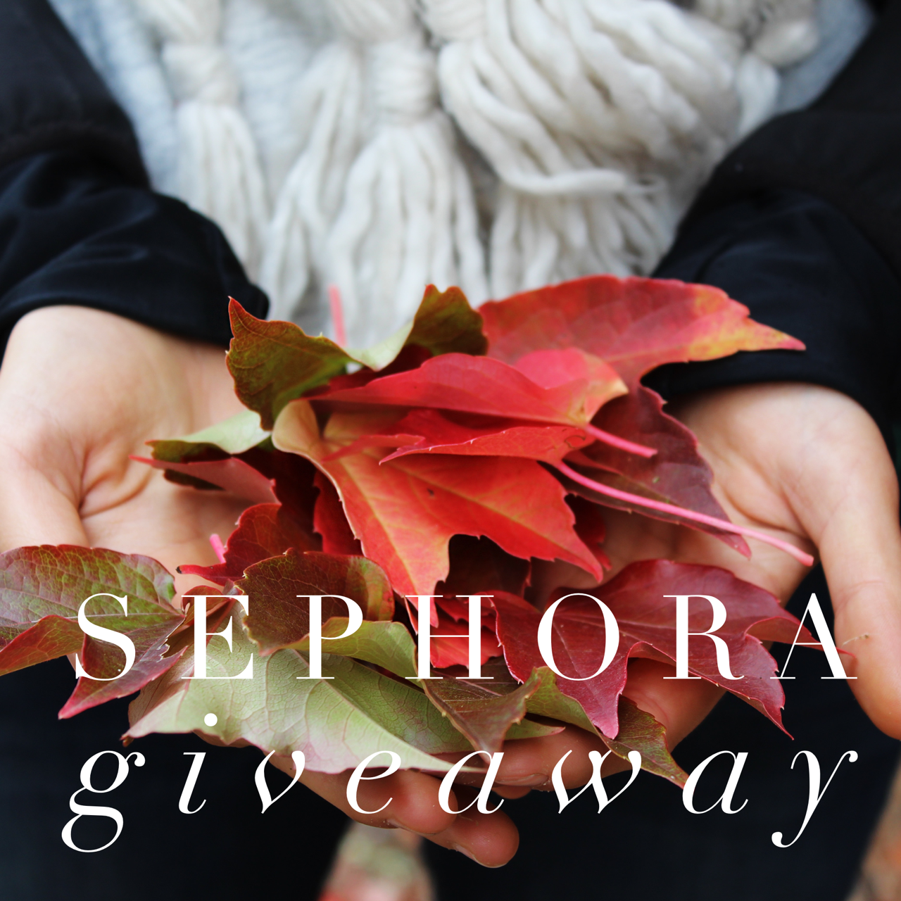 Five things I really want from Sephora & a Giveaway