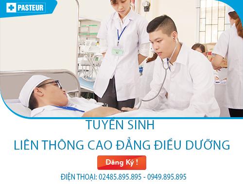 Học liên thông cao đẳng Điều dưỡng ở đâu tốt nhất tại Hà Nội