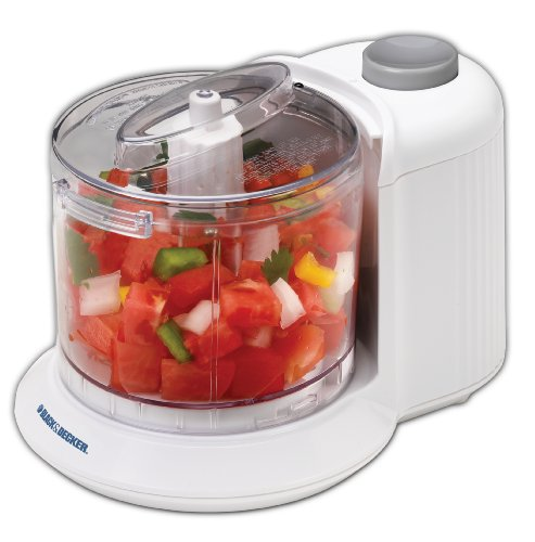 Not a food processor, but a small food chopper made by Black & Decker.