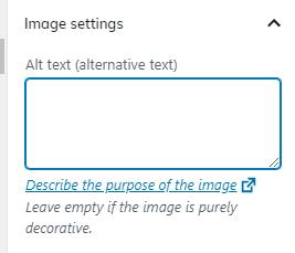 image keyword optimisation