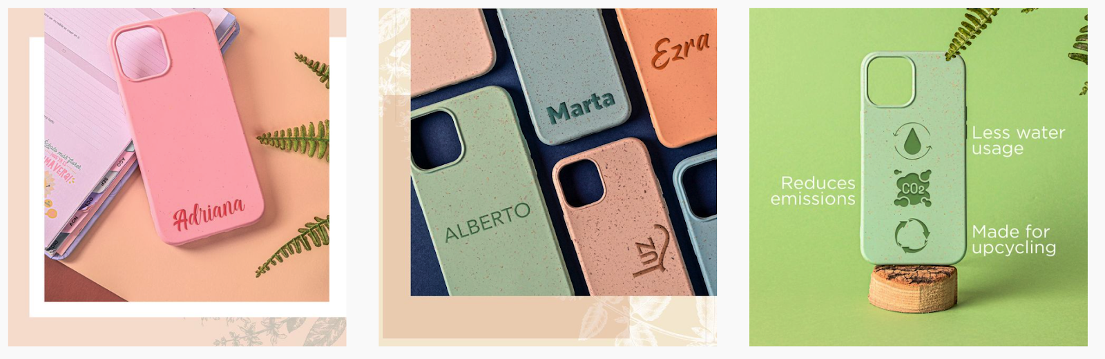 Leafy Covers | Bamboo Fiber Smartphone Cases