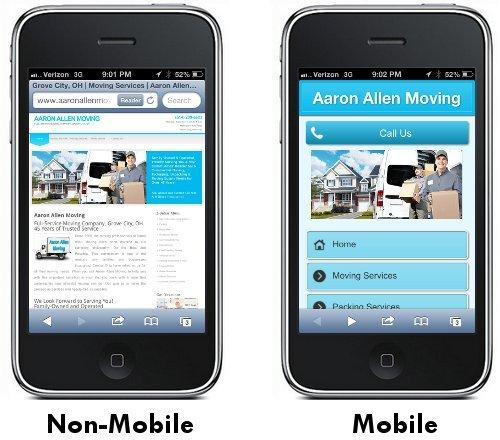 Keep your website mobile-friendly