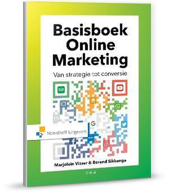 Voorbeeld boek: Basis Online Marketing