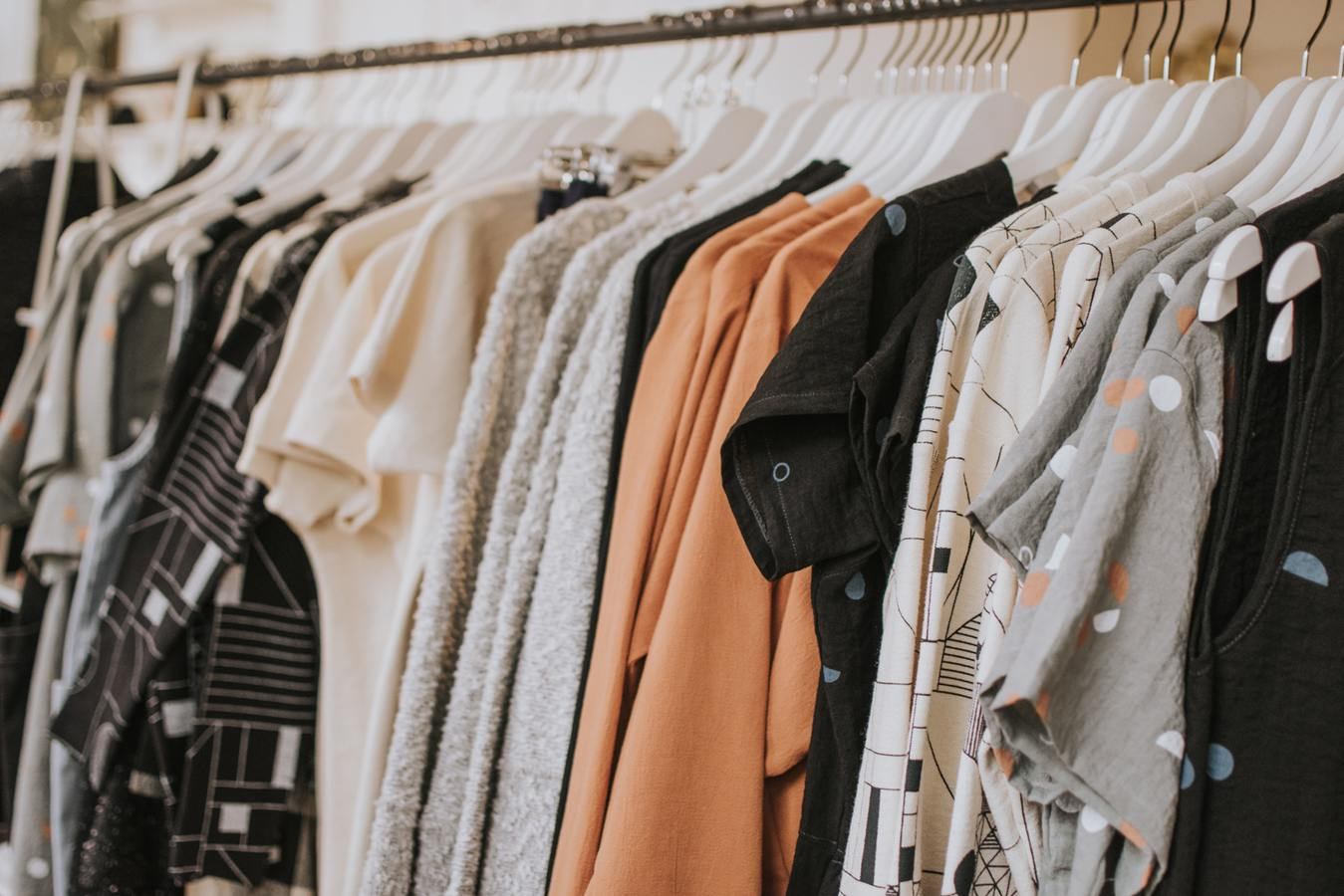 Riel de ropa