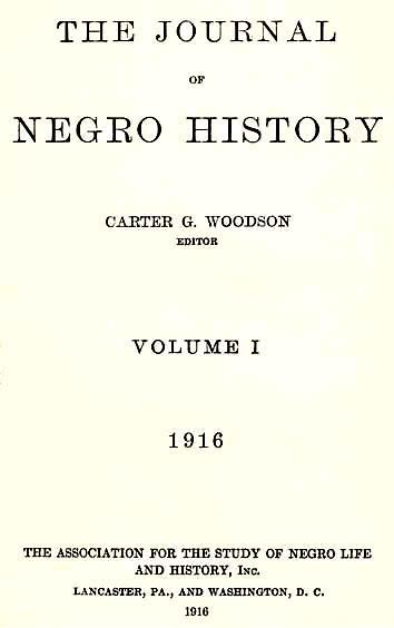 Image result for Journal of Negro History