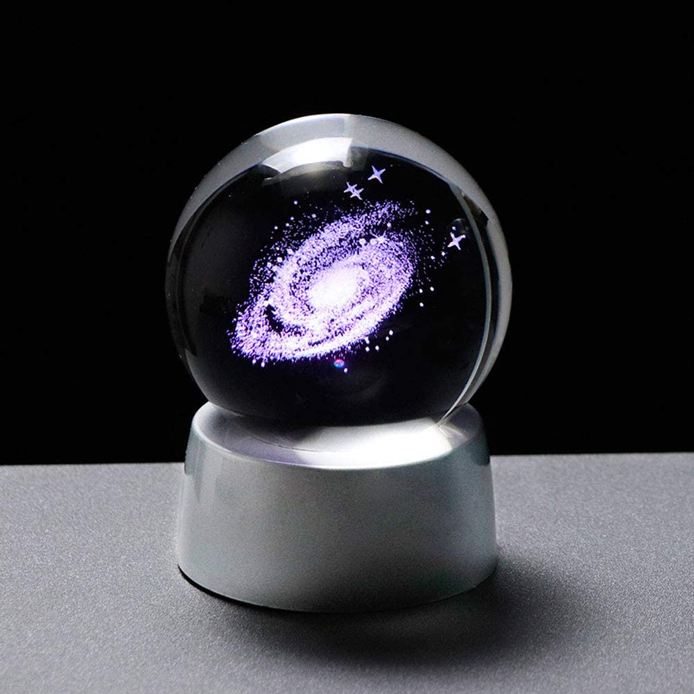 3D Universe Glass Globe