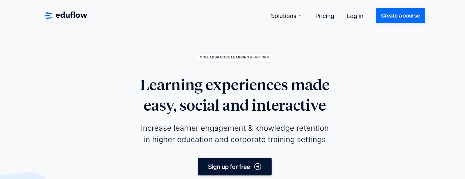 Screenshot of Eduflow - Cohort Based Course Platform