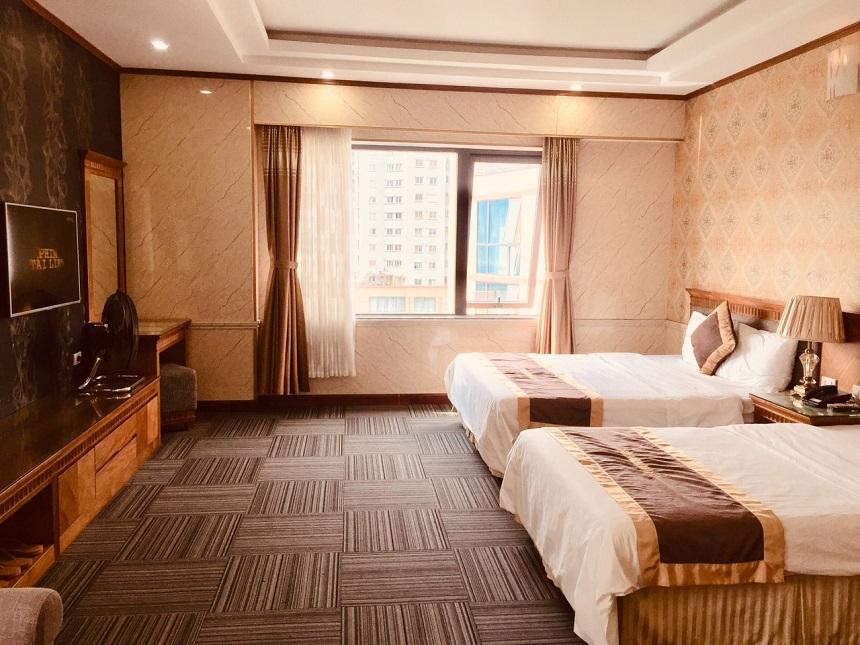 Hệ thống phòng ngủ được trang bị đầy đủ hiện đại