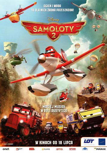 Przód ulotki filmu 'Samoloty 2'