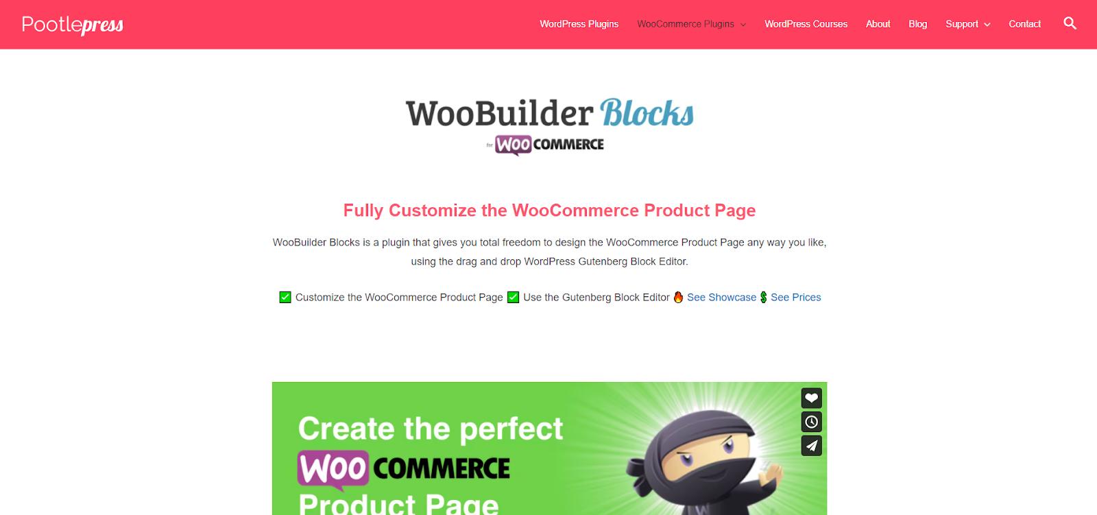 Get WooBuilder Blocks