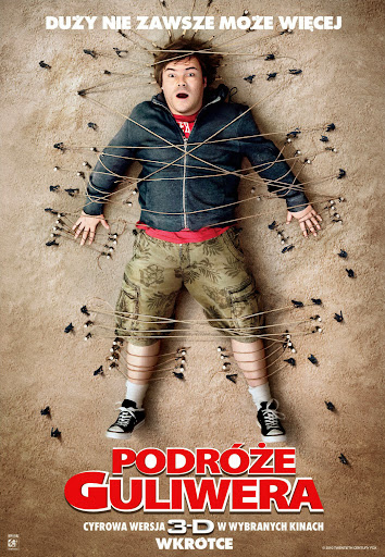 Polski plakat filmu 'Podróże Guliwera'