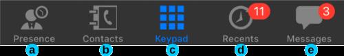 Mit der 3CX App für iOS lassen sich Anrufe ganz einfach verwalten