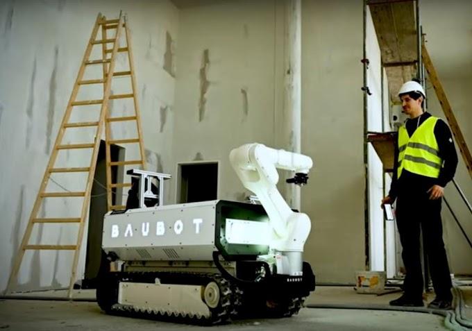 Baubot 3D Printing Robot is a Construction Site's New Helper