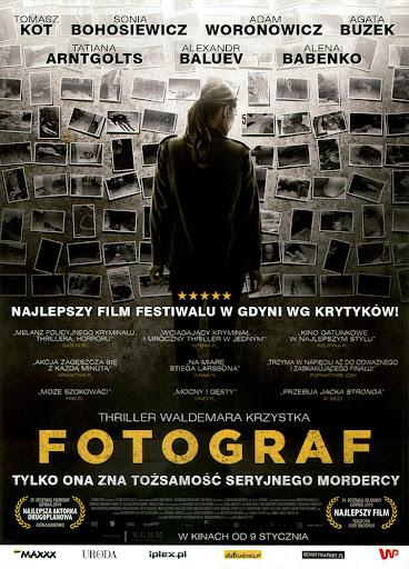 Przód ulotki filmu 'Fotograf'