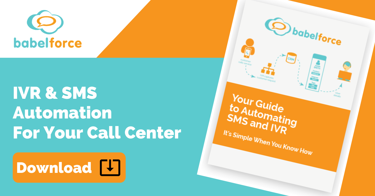 Download your guide to automating SMS and IVR