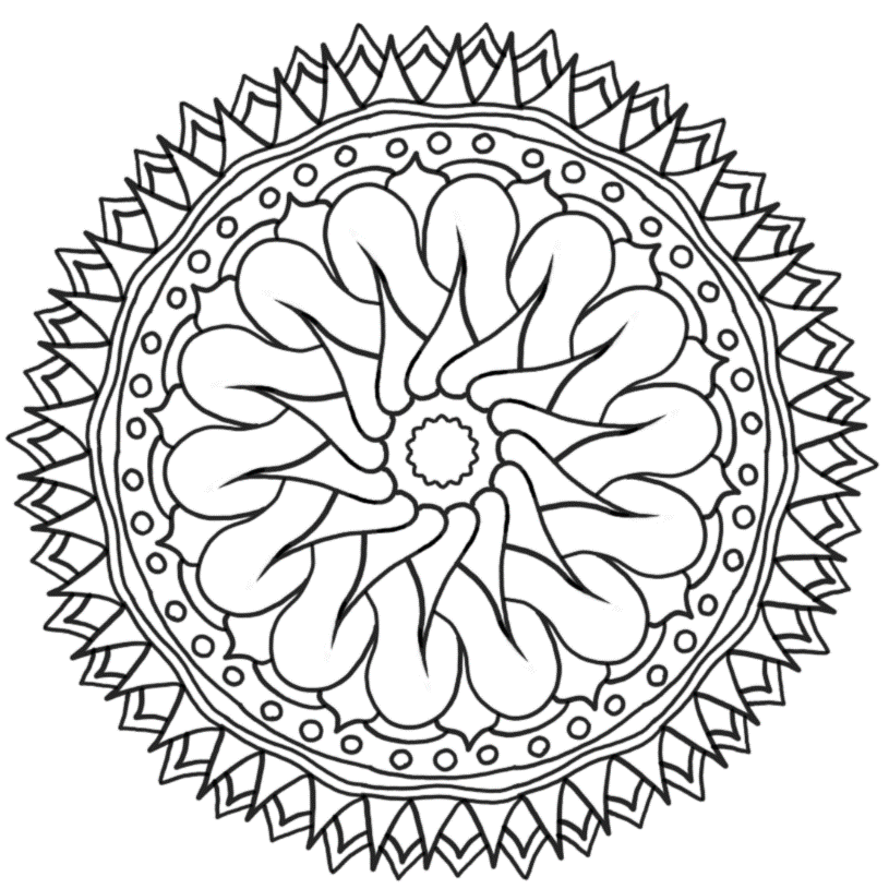 Picture of Carried Away coloring page