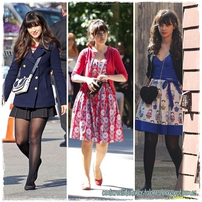 Jessica Day - New Girl - Zooey Deschanel - ladylike style