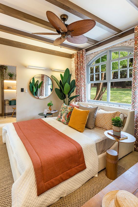 Install A Retro Ceiling Fan in Your Bedroom