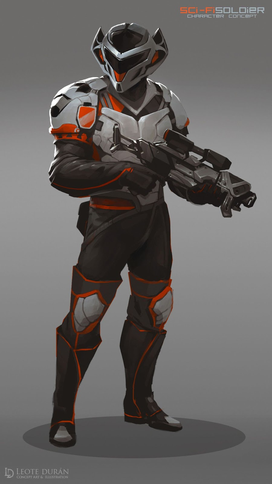 Image result for futuristic soldier concept art