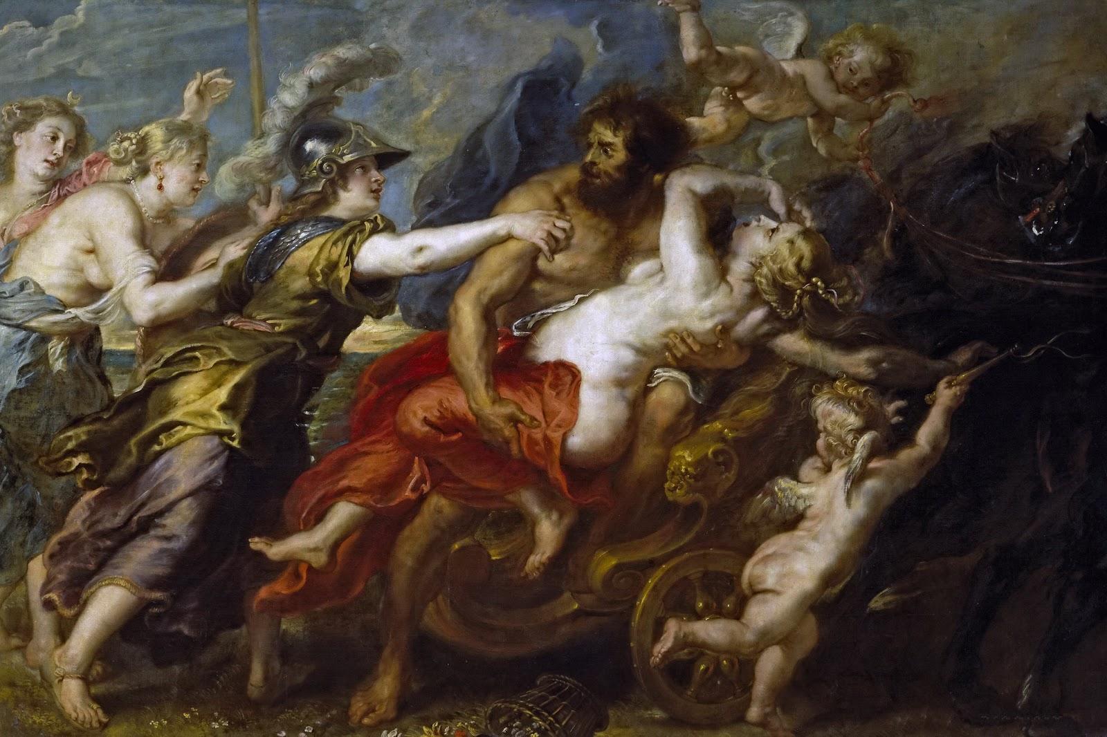 Похищение Персефоны, Питер Пауль Рубенс