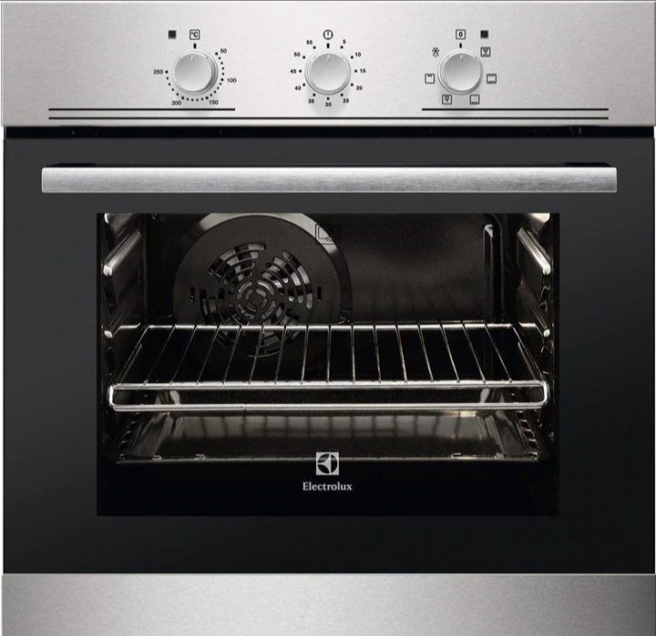 Electrolux 53L Built-in Oven with Grill function EOB2100COX. Source: Electrolux