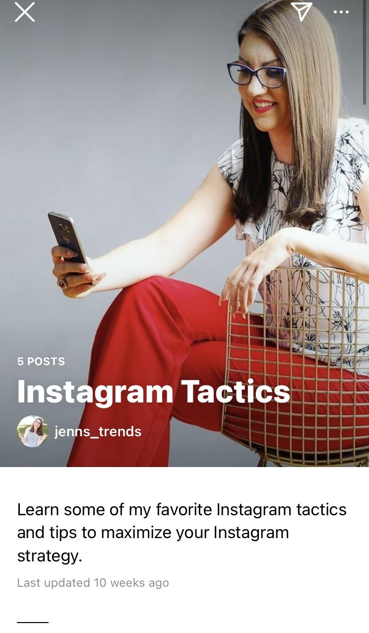 promoting on instagram