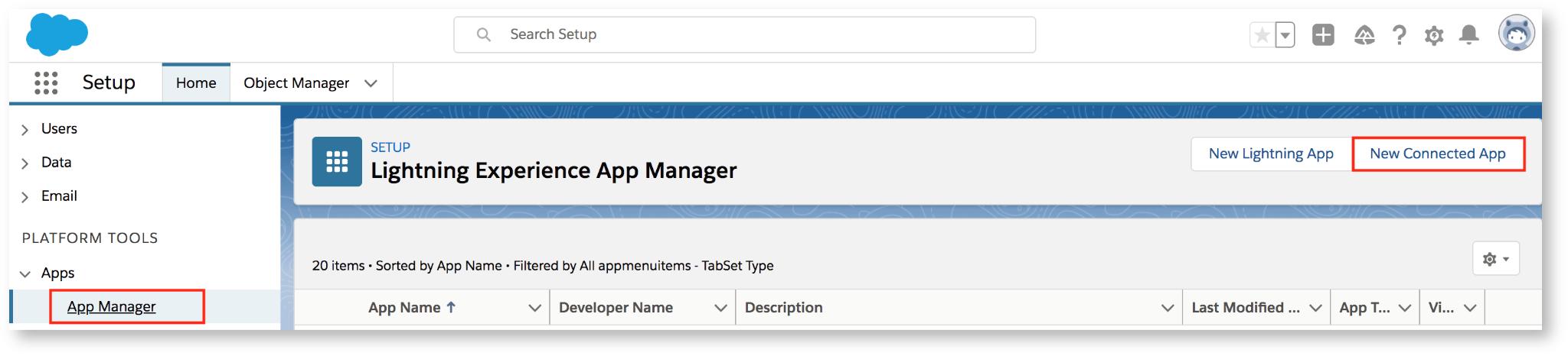 salesforce app manager