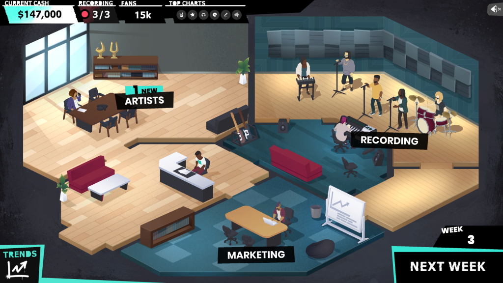 Beats Empire screenshot