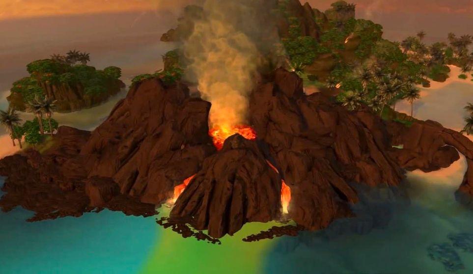 Mua Pel'Am Has A Volcano