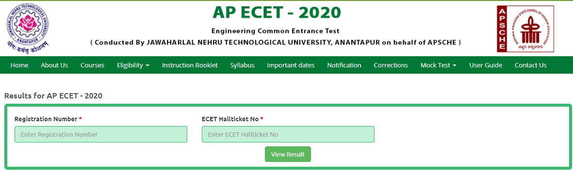 Check AP ECET Results 2021