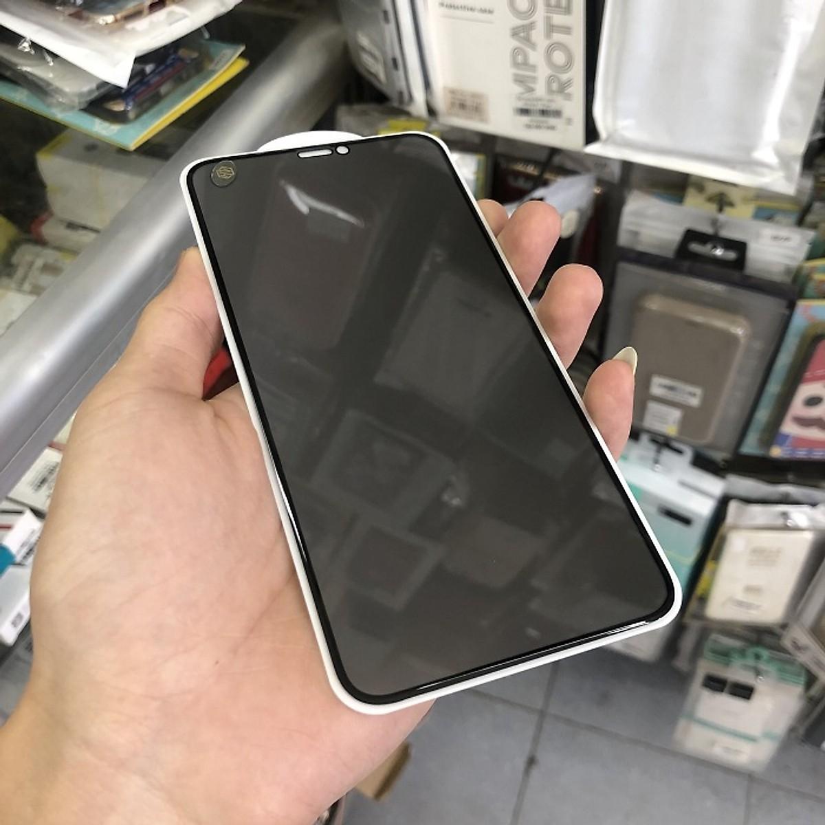 Kính cường lực Full chống nhìn trộm cho iPhone 11, 11 Pro, 11 Pro Max