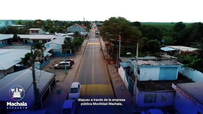 SEÑALIZACIÓN DE CALLES EN LA PARROQUIA EL RETIRO - Machala Alcaldía -  YouTube
