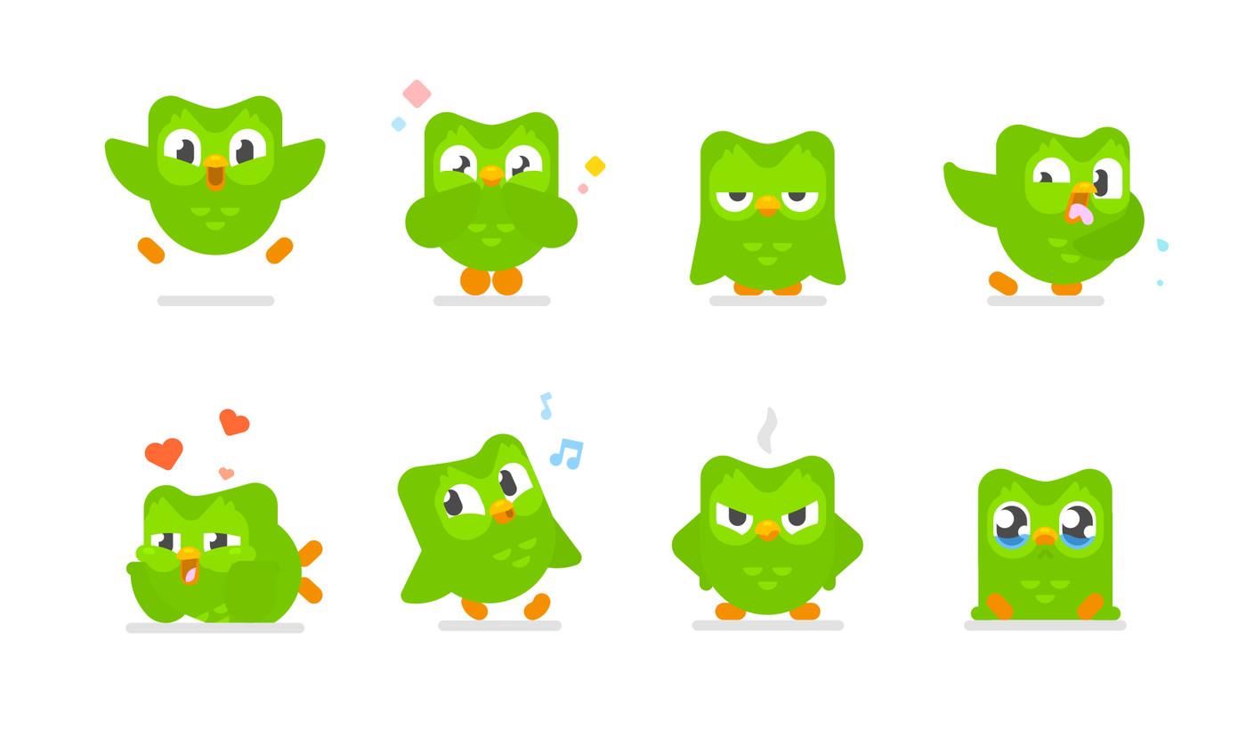 Duolingo ptica