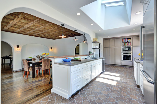 10 kitchen floor tile ideas you'll love