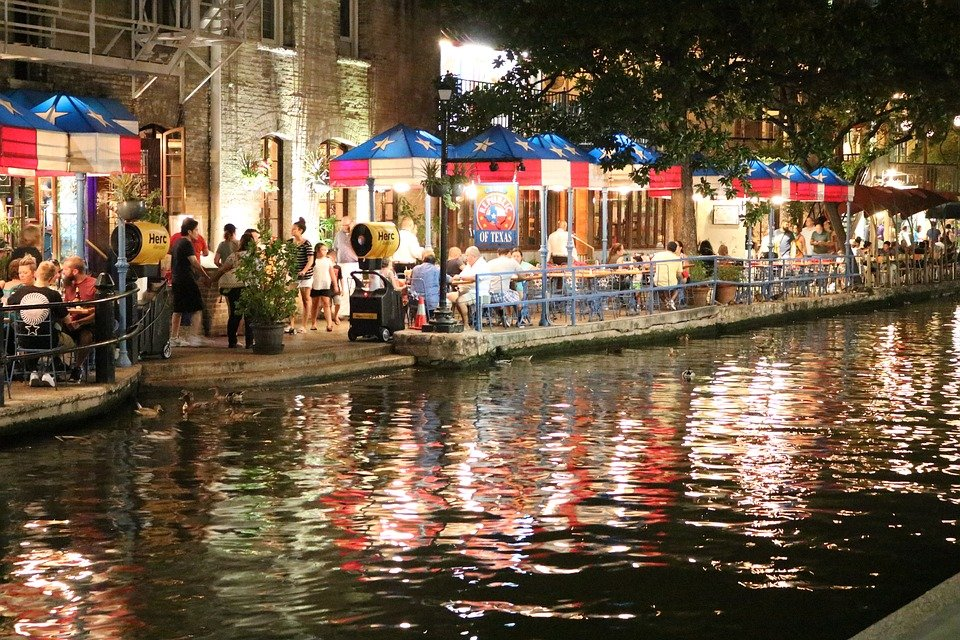 San Antonio Riverwalk, River, Outdoor, Texas, Culture, Photo