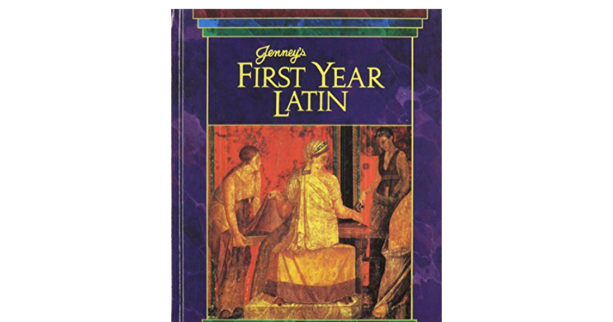Answer key for First year Latin Workbook by Charles Jenney Jr.