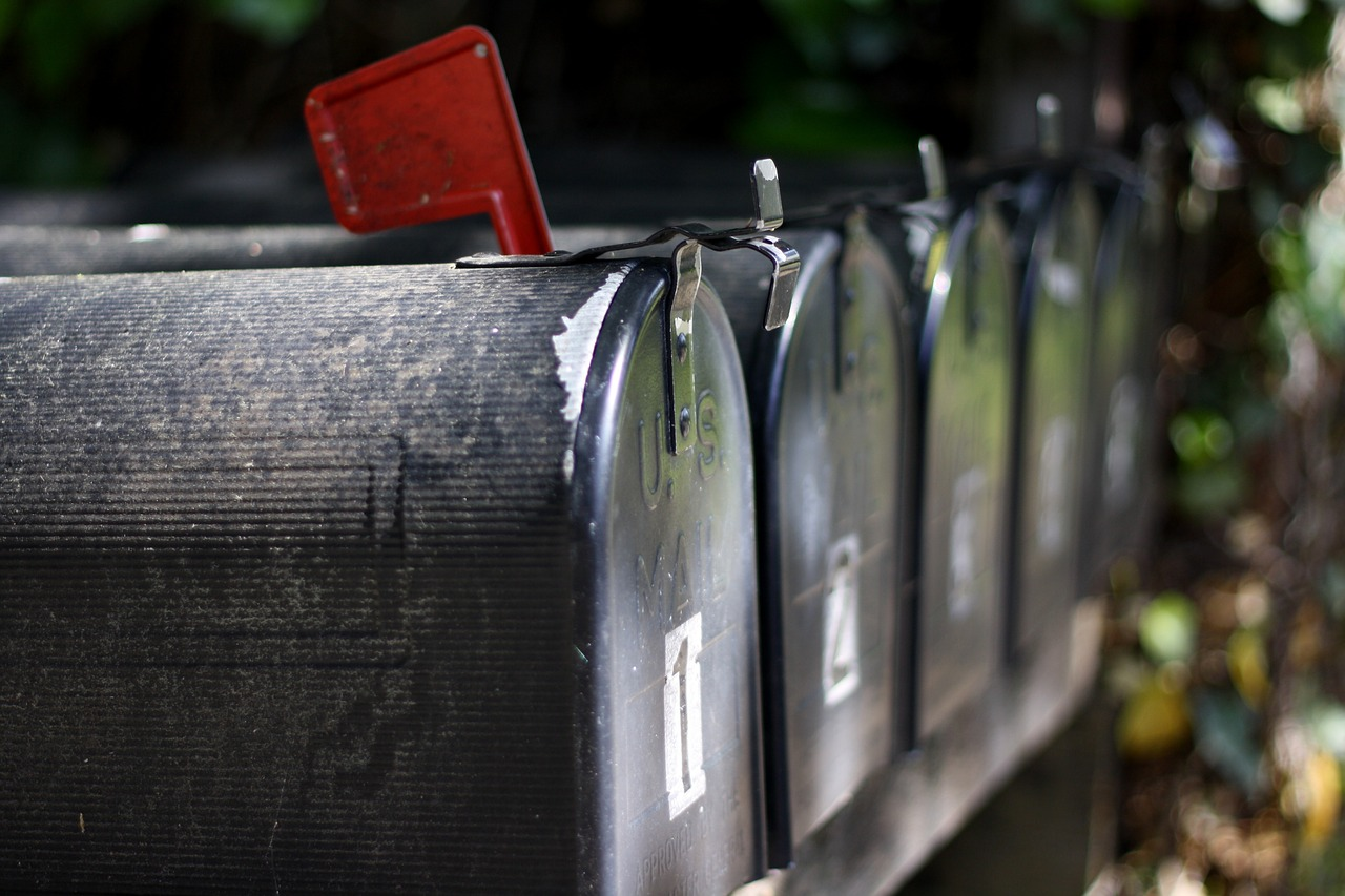 mail boxes in the US