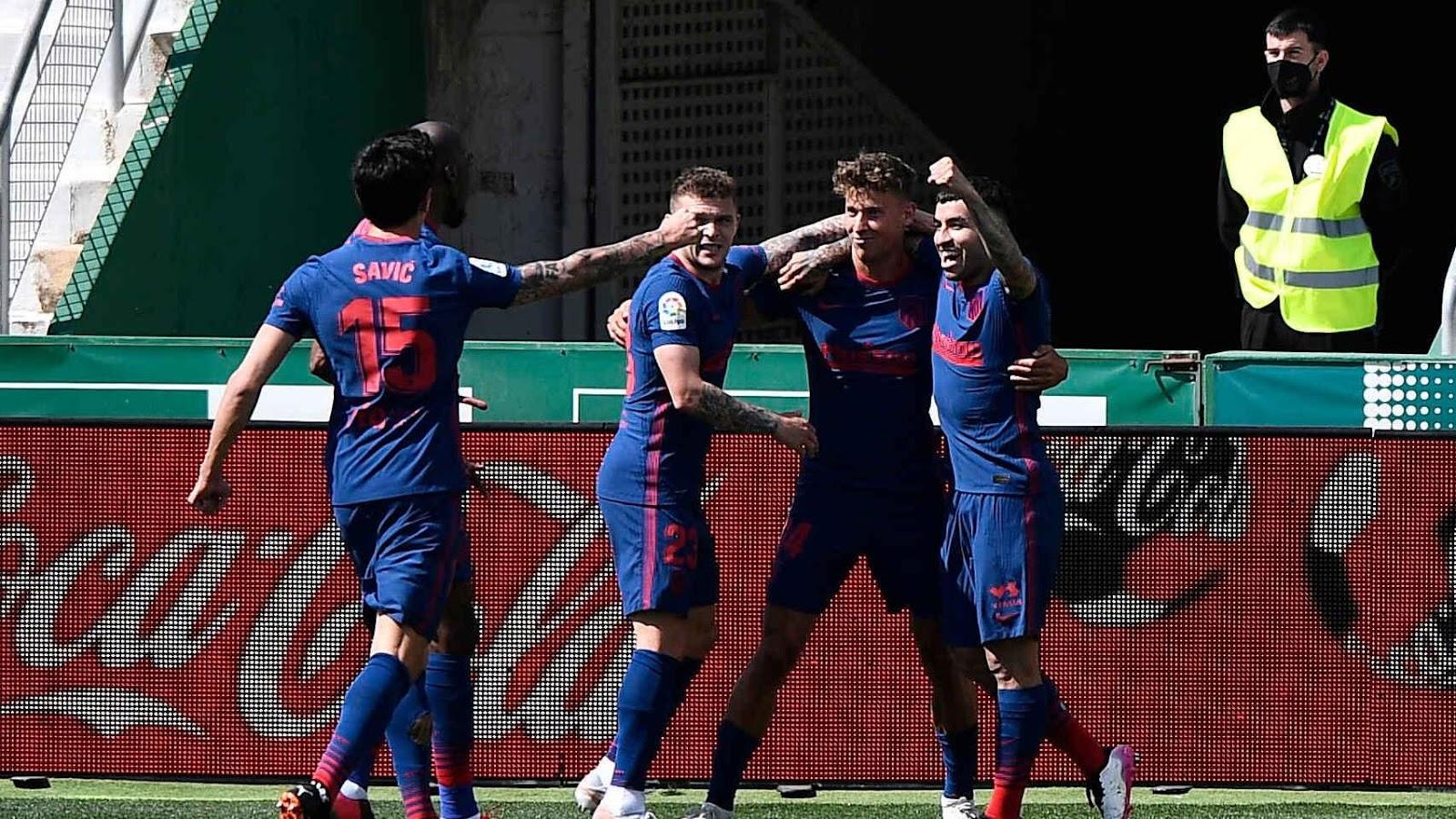 Atletico Madrid đã có một trận đấu khó trước Elche