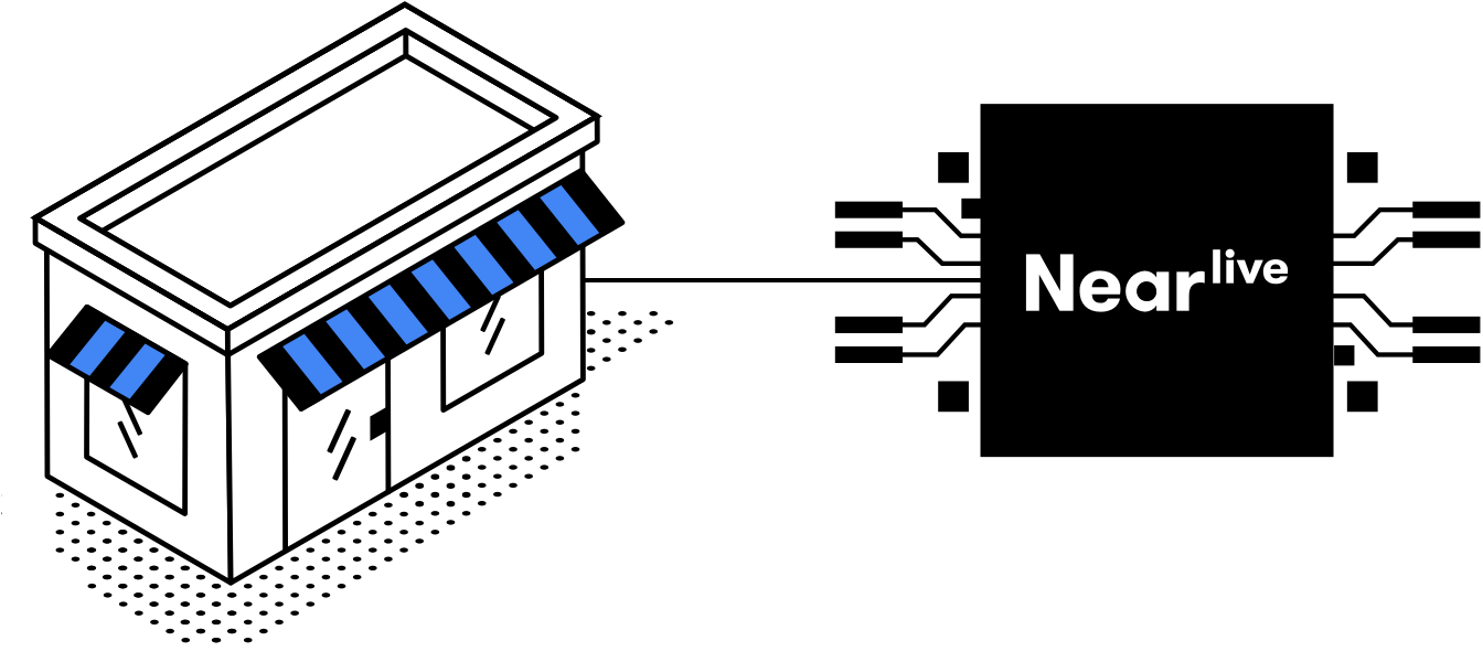 NearSt connects directly to your in-store POS