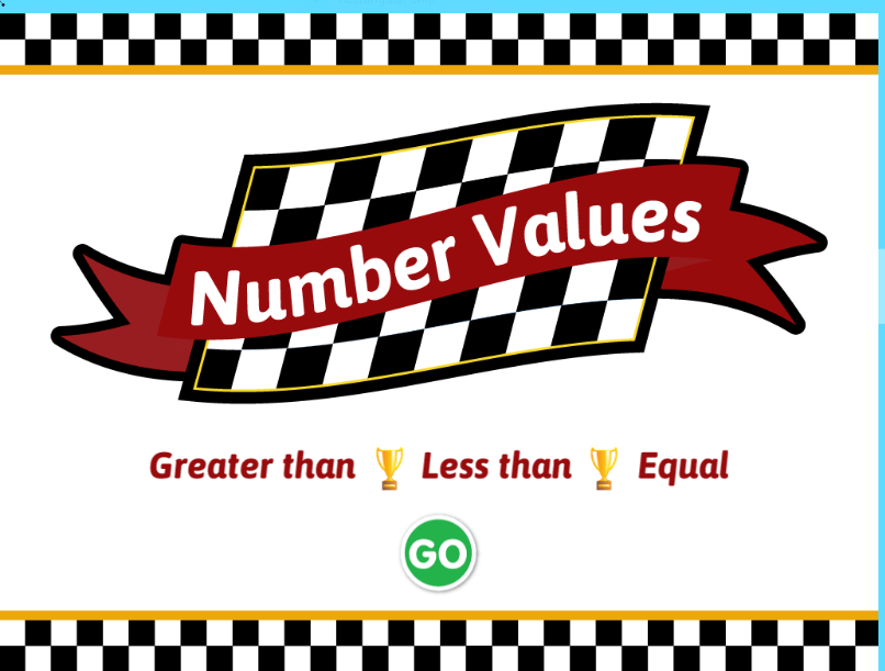 Raceway Number Values