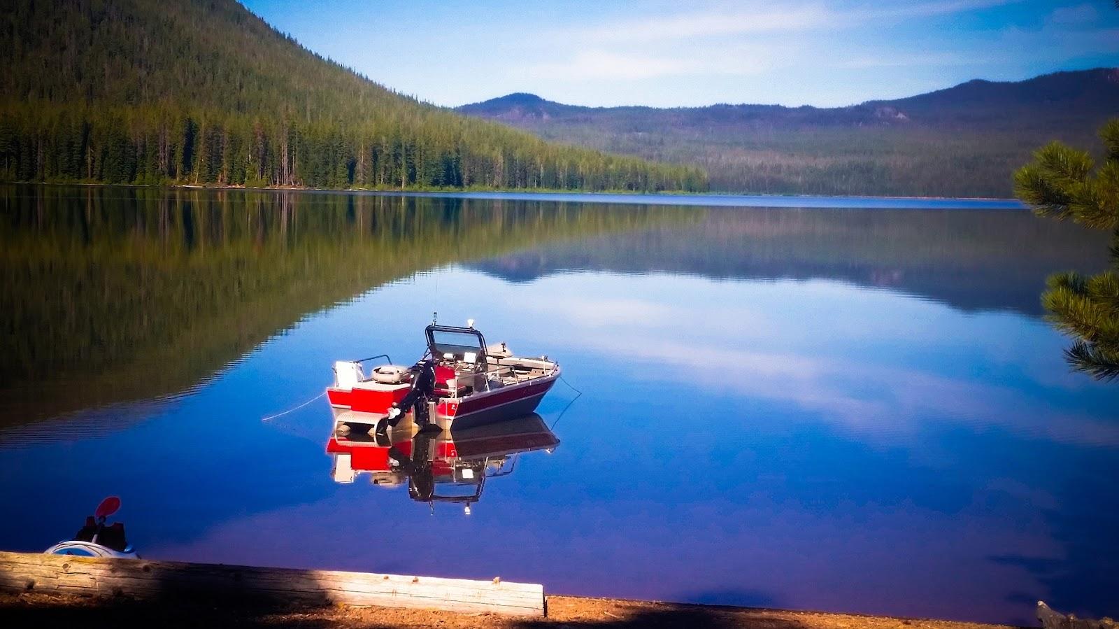 A Flat-Bottom Fishing Boat