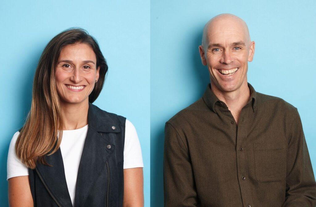 Co-founders of Swell Advisors, Sandra Merrill & Chris Zimmermann