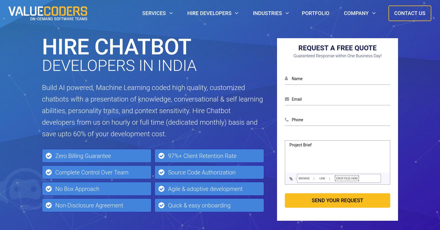 Top Development Companies To Build Intelligent Chatbots