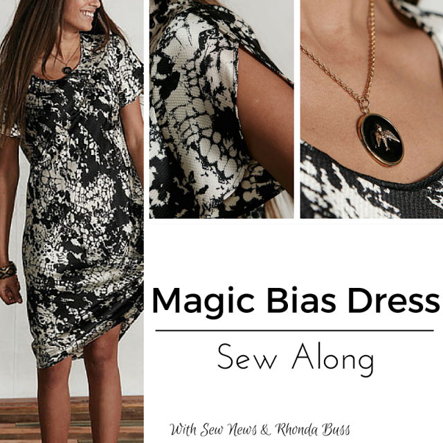 Magic Bias Dress Sew Along: Week 3 Color Blocking