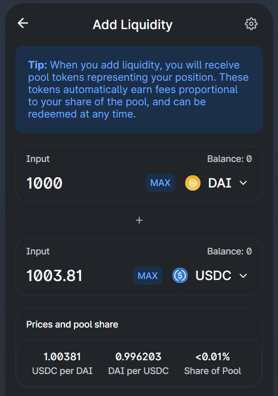 LP tokens, another type of Ethereum token, are sent to users who lock assets in a liquidity pool.