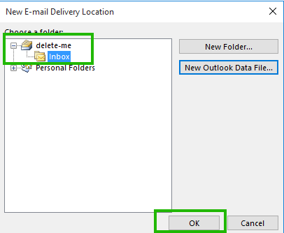 outlook data file cannot be accessed 2016